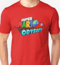 Mario Odyssey Inspired Logo Cap HQ T-Shirt