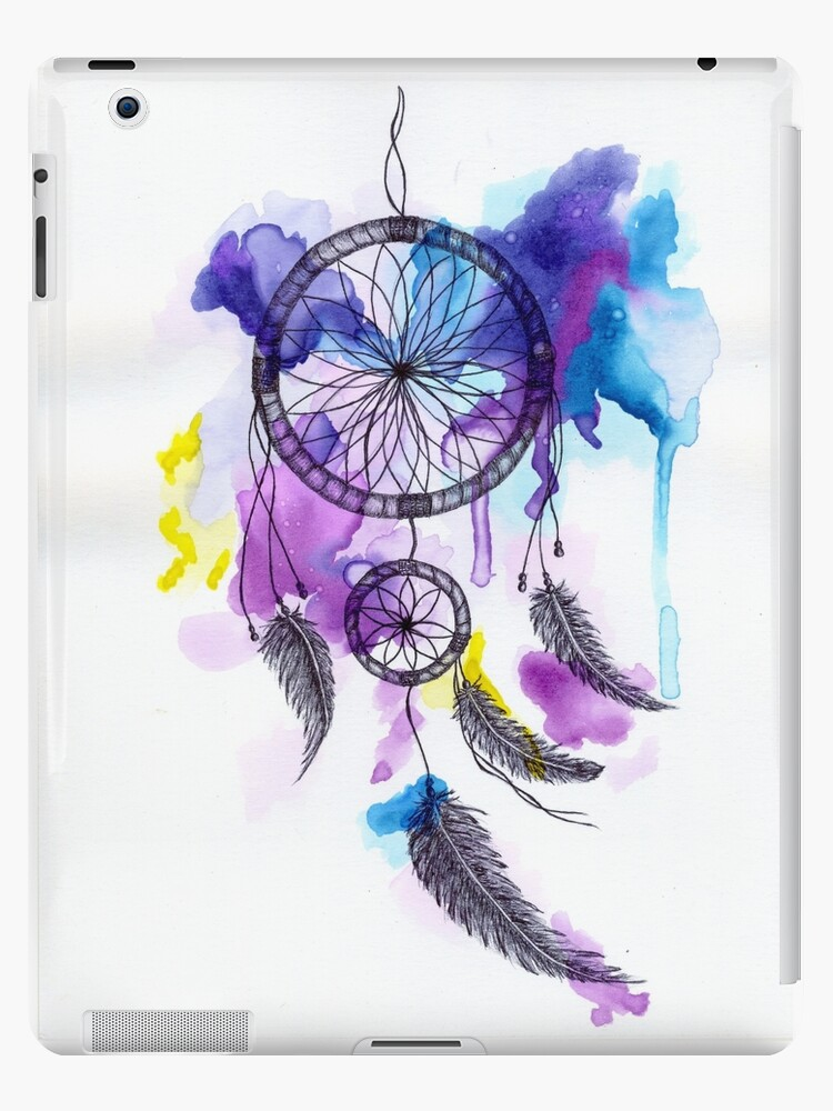 Watercolor Dreamcatcher IPad Cases Skins By Lindsay Osborne Fascinating Water Color Dream Catcher