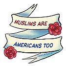 fundraising 4 ACLU: Muslim's are American's too  by swinku
