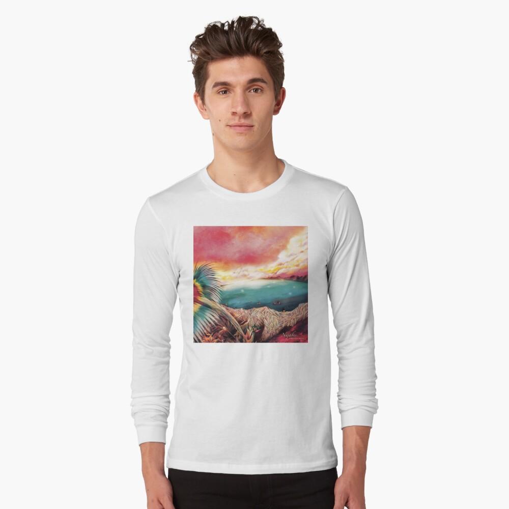 Nujabes - Spiritueller Zustand Langarmshirt