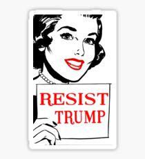 RESIST TRUMP Sticker