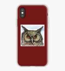 Anni's Owl iPhone Case