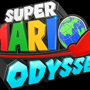 Mario Odyssey Logo Cap HQ Cappy by showart00