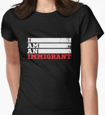 Popular: I am an Immigrant Women's Fitted T-Shirt