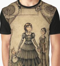 A series Of Unfortunate Events The Orphans Graphic T-Shirt