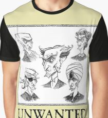 A Series Of Unfortunate Events Unwanted Graphic T-Shirt