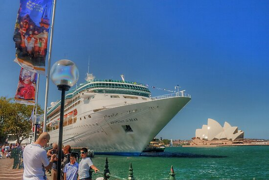 Rhapsody & the Opera House in HDR by Michael Matthews