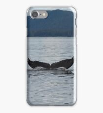Humpback Whale Diving iPhone Case/Skin