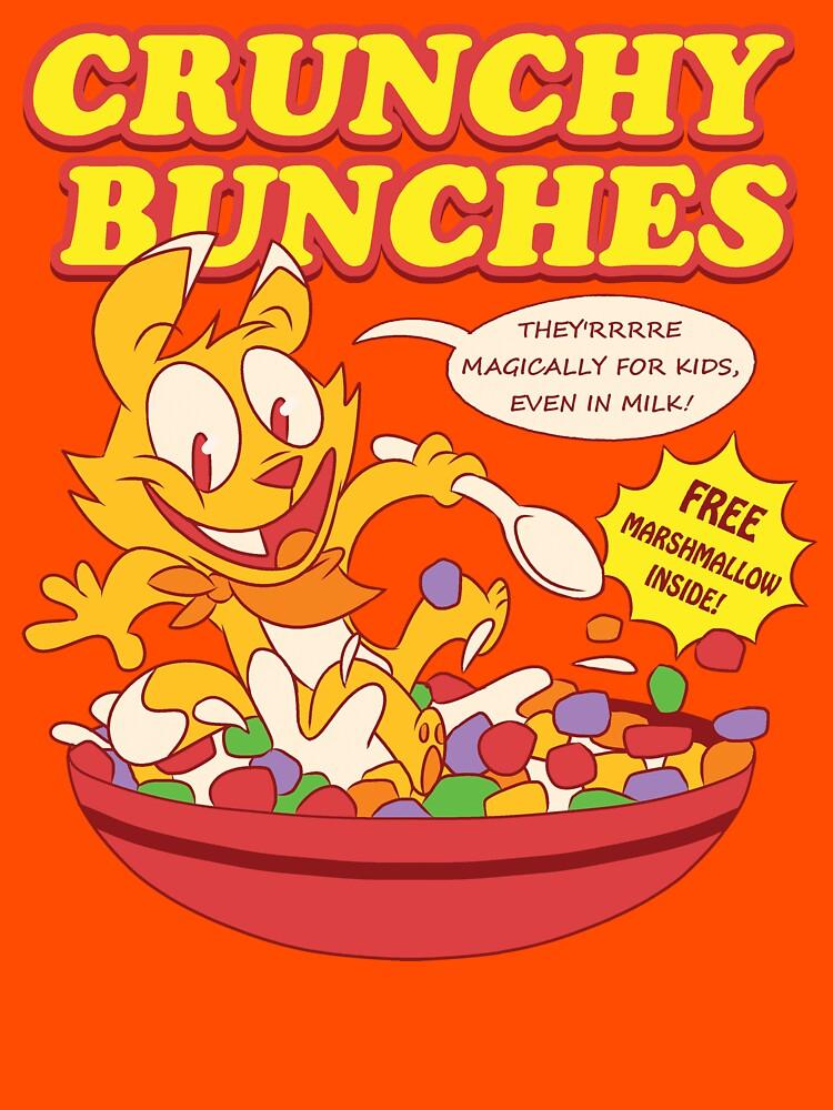 Crunchy Bunches Cereal Shirt by wscottwarren