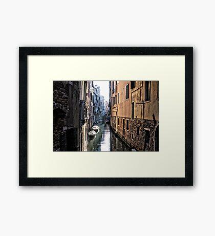 Secret Venice Framed Print