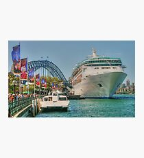 Rhapsody at the Quay Photographic Print