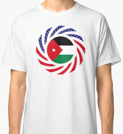 Jordani American Multinational Patriot Flag Series Classic T-Shirt