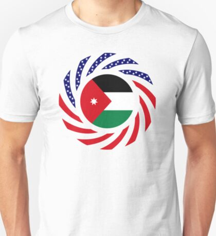 Jordani American Multinational Patriot Flag Series T-Shirt