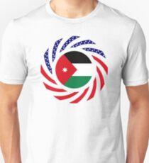 Jordani American Multinational Patriot Flag Series Slim Fit T-Shirt