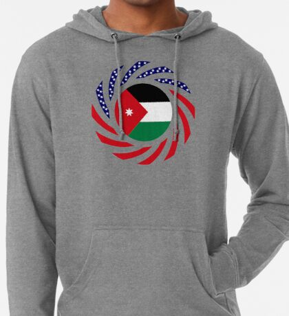 Jordani American Multinational Patriot Flag Series Lightweight Hoodie