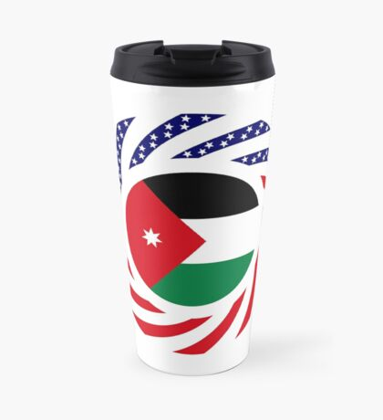 Jordani American Multinational Patriot Flag Series Travel Mug