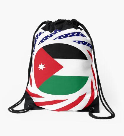 Jordani American Multinational Patriot Flag Series Drawstring Bag