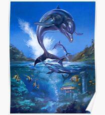Ecco The Dolphin Poster