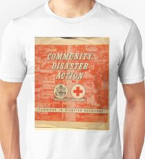 Community Disaster Action lp T-Shirt