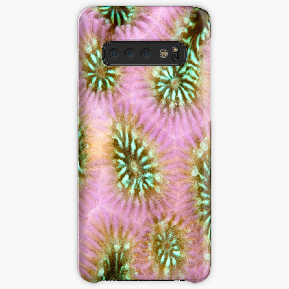 Coral polyp abstract Case & Skin for Samsung Galaxy