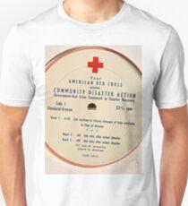 Community Disaster Action lp label Unisex T-Shirt