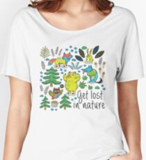 Enchanted forest Women's Relaxed Fit T-Shirt