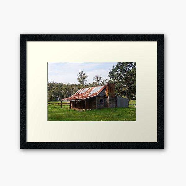 Fry's Hut Framed Art Print