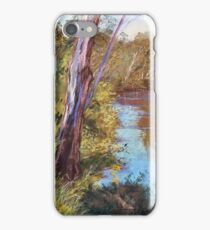 'Beside the Goulburn - Trawool' iPhone Case/Skin