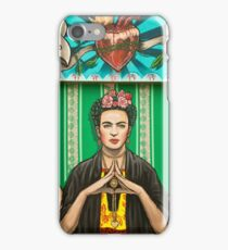 Santa Frida iPhone Case/Skin
