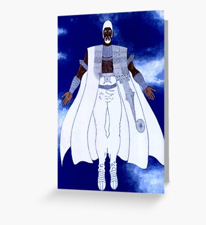 OBATALA - Orisha of the White Cloth Greeting Card