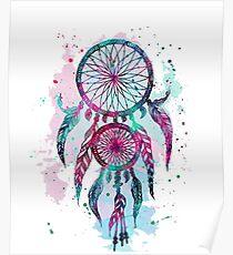 Dreamcatcher Tattoos | Dreamcatcher Wolves – T-Shirt Poster