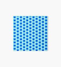 diamond symbol light blue  Art Board