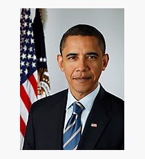 Barack Photographic Print