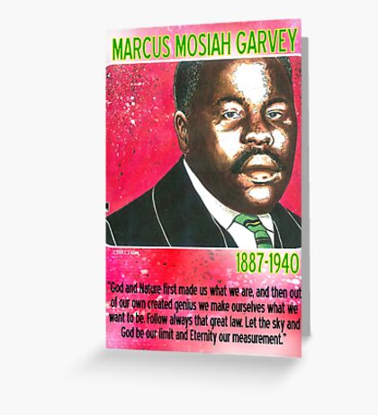 Marcus Mosiah Garvey Greeting Card