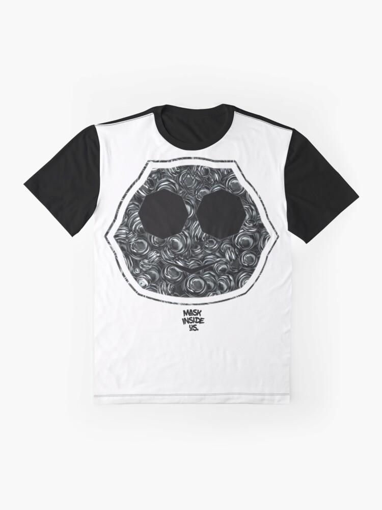 Alternate view of minus msx Graphic T-Shirt