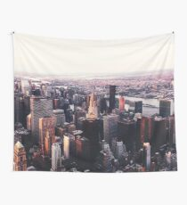 New York City Cityscape Skyscape #trending #tapestry Wall Tapestry