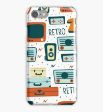 Retro Devices iPhone Case/Skin