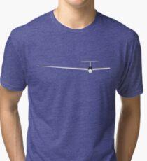Glider glider soar sailplane Tri-blend T-Shirt