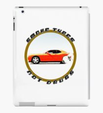 Smoke Tyres Not Drugs iPad Case/Skin