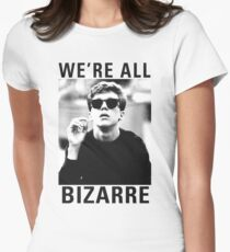 Breakfast Club We're All Bizarre Womens Fitted T-Shirt