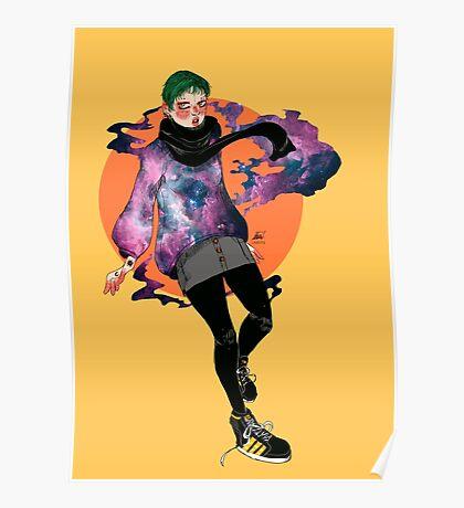 nebula. Poster