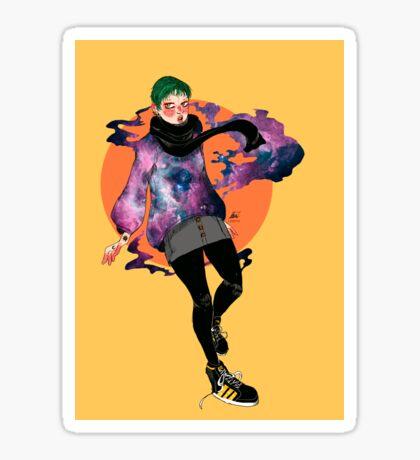 nebula. Sticker