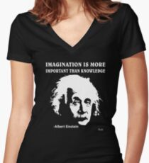 a6151f369821 Rule Albert Einstein T-Shirt Imagination Is More Important Than Knowledge T- shirt col