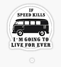 VW Live for ever Sticker