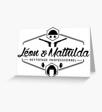 Leon and Mathilda Corporation Greeting Card