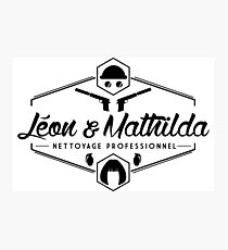 Leon and Mathilda Corporation Photographic Print