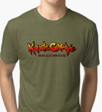 Krush Groove Records Tri-blend T-Shirt
