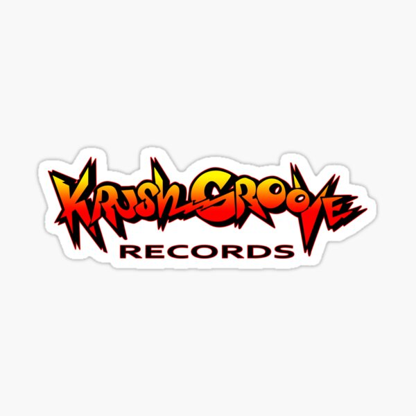 Krush Groove Records Sticker