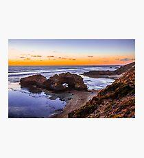 London Bridge, Portsea, Mornington Peninsula, Victoria, Australia. Photographic Print