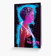 The Neon Demon Greeting Card